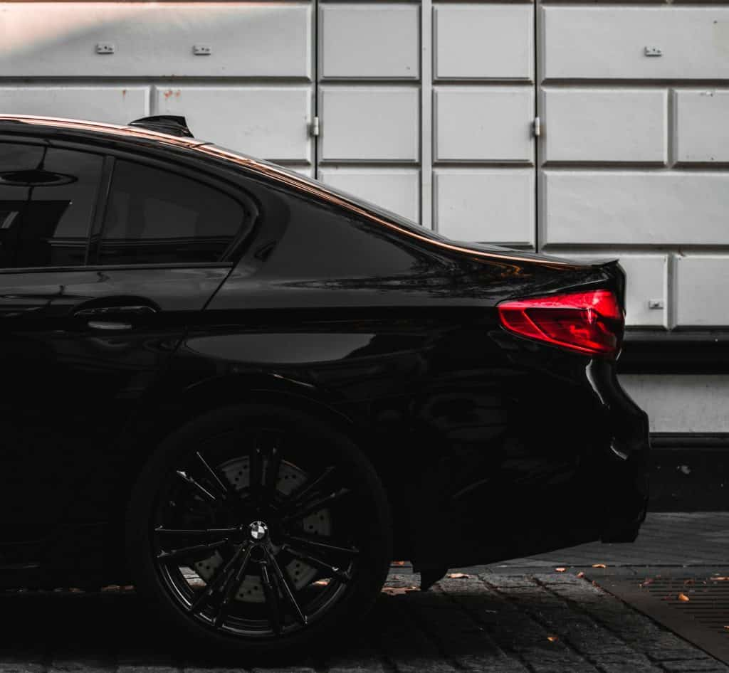 Standard services for GMW Perth- Back of shiny black BMW